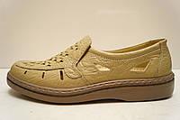 Туфли мужские Tigina 5013 мрамор бежевые