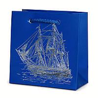 Подарочный бумажный пакет OL - Корабль