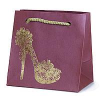 Подарочный бумажный пакет OL - Туфелька