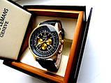 Чоловічі кварцові годинники Breitling. Стильні чоловічі годинники. Годинники чоловічі репліка. Кращі репліки годин., фото 2