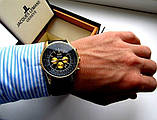 Чоловічі кварцові годинники Breitling. Стильні чоловічі годинники. Годинники чоловічі репліка. Кращі репліки годин., фото 4