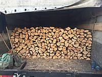 Дрова не колотые дуб Киев с доставкой 650грн складометр