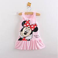 Трикотажное платье для малышки.