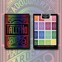 Карты игральные | Tally Ho Spectrum Fan Back