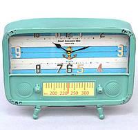 """Часы настольные """"Blue radio"""" 20x26x5см, фото 1"""