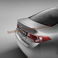 Спойлер на крышку багажника из ABS пластика на Honda Accord 8 2007-2013