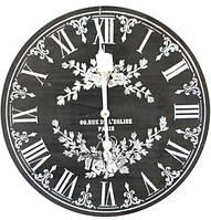 """Часы настенные """"Black&White"""" Ø40см"""