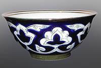 Узбекская национальная посуда Пахта-золотая. Каса, диаметр 15 см.
