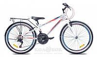 """Подростковый велосипед Premier Texas 24 11"""" Велосипед Premier Texas 24 11"""" белый с крас-голуб"""