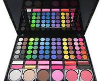 Палитра для макияжа 78 цветная с помадами