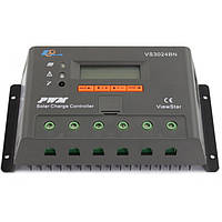 Фотоэлектрический контроллер заряда EPsolar VS3024BN, ШИМ 30А 12/24В  с дисплеем, фото 1