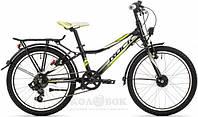 Детский Велосипед Rock Machine SURGE 20 CITY black/green/white
