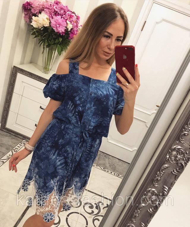 279d33d0123 Женское модное летнее платье прошва   продажа