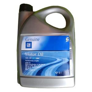 Синтетическое моторное масло GM  5w-30 5л