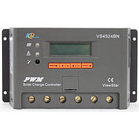 Фотоэлектрический контроллер заряда EPsolar VS4524BN, ШИМ 45А 12/24В  с дисплеем, фото 1