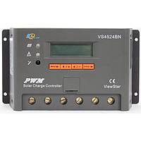 Фотоэлектрический контроллер заряда EPsolar VS4524BN, ШИМ 45А 12/24В  с дисплеем