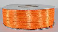 Лента атласная. Цвет - оранжевый. Ширина - 0,3 см, длина - 123 м