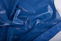 Кожа одежная наппа капри синий 12-0744