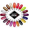 Набор 2 цветных гель лака GGA + Nail Prep 3in1 В Подарок!, фото 7