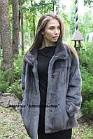 Красивый полушубок  из меха скандинавской норки, 75 см. Украинское производство, в наличии 46 р
