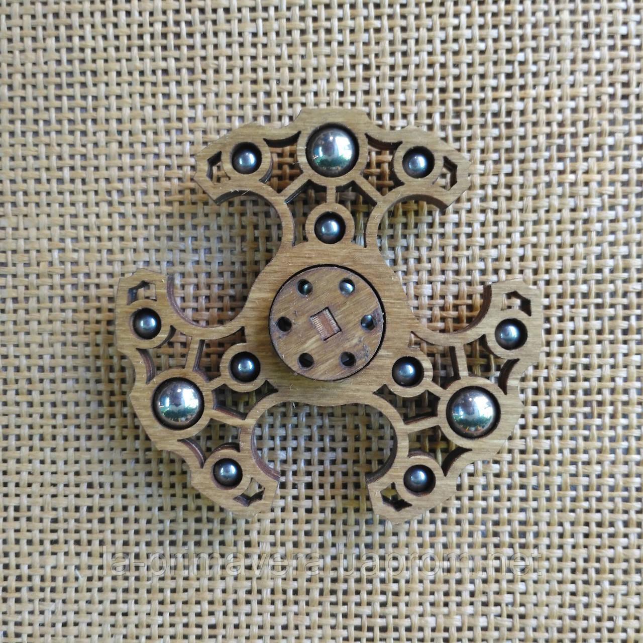Деревянный спиннер (Fidget spinner), игрушка-антистресс