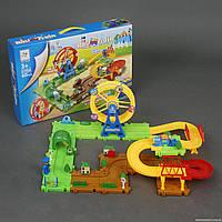 Железная дорога-конструктор 2110A, 60 деталей Yang Toys