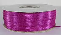Лента атласная. Цвет - фиолетовый. Ширина - 0,3 см, длина - 123 м