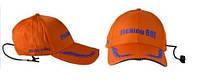 Кепка Fishing Roi с фонариком Fishing Cap with LED Light  Orange Dark Blue (2-00-0020)