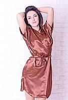 Шоколадный комплект с ночной рубашкой / Шоколадний комплект з нічною сорочкою