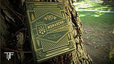 Карты игральные   Monarch Playing Cards (Green), фото 3