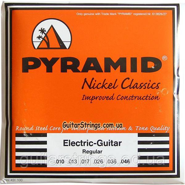 Струны Pyramid R451 100 Pure Nickel Classics Round Core 10-46 Regular
