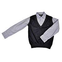 Рубашка-жилет, серый BOLD