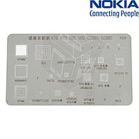 BGA-трафарет A68 для Nokia 6500s/6600s (25 in 1)