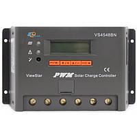 Фотоэлектрический контроллер заряда EPsolar VS4548BN, ШИМ 45А 12/24/48В  с дисплеем, фото 1