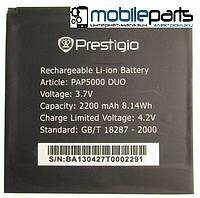 Оригинальный аккумулятор АКБ (Батарея) Prestigio PAP5000  (Li-ion 3.7V 2200mAh)