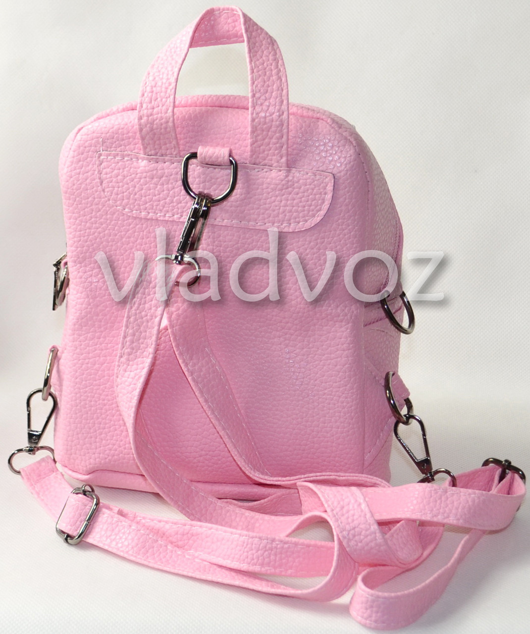 242870cf8795 Молодежный модный рюкзак подросток девочка с бантиком розовый, цена 500  грн., купить Вознесенск — Prom.ua (ID#552076049)