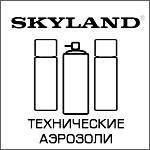 Технические аэрозоли, спреи, смазки, очистители, жидкие ключи SKYLAND