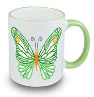 Чашка с бабочкой