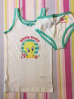 Майка и трусы детские на девочку Looney Tunes , 4-6 лет