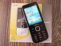 Мобильный телефон Nokia 6700+ Черный. Экран 2.8'' GPRS копия Нокия 6700 MicroUSB