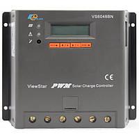 Фотоэлектрический контроллер заряда EPsolar VS6048BN, ШИМ 60А 12/24/48В  с дисплеем