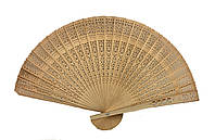 Веер ручной деревянный