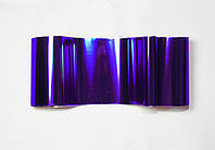 Фольга для ногтей 1 метр фиолетовая с блеском, разные расцветки