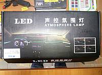 Подсветка панели, обшивки автомобиля RGB (многоцветная)