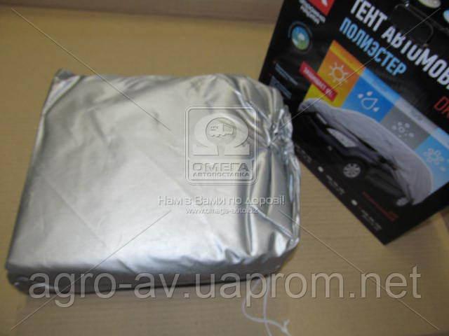 Тент авто (DK472-PE-3L) внедорожник Polyester L 480*195*155 <ДК>