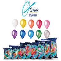 Воздушные шарики ассорти Gemar balloons 100 штук