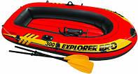 Надувная лодка Intex 58358 Explorer Pro 300 (244-117-34 см.)