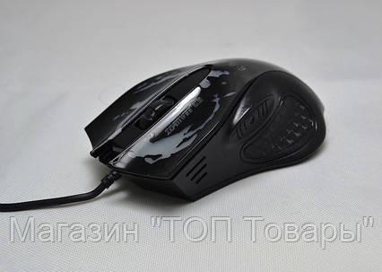 Мышь компьютерная проводная XG66 с подсветкой USB!Акция, фото 2