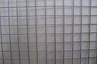 Сетка сварная яч.12-12 мм. h:1.0 м., d:0.9 мм. оцинкованная