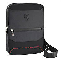 Бизнес-сумка Ferrari через плечо из неопрена, Neoprene business crossbody bag